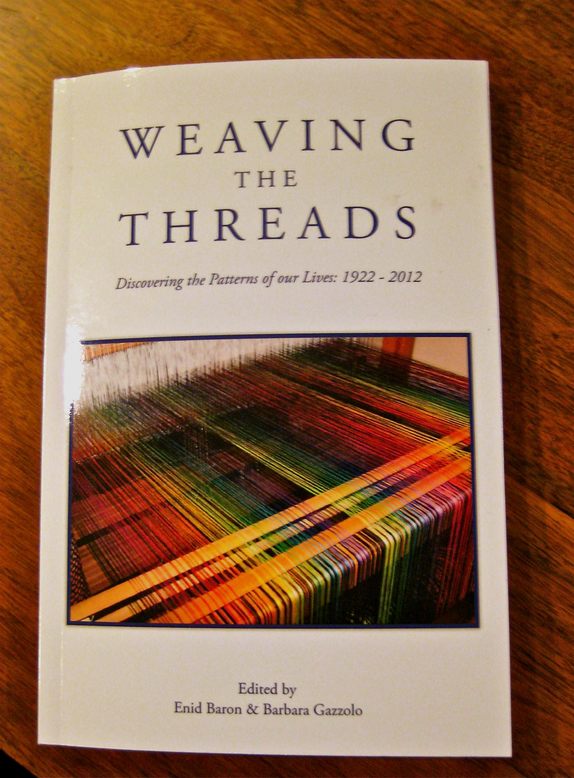 Upcoming May readings: Weaving the Threads, Barry Silesky