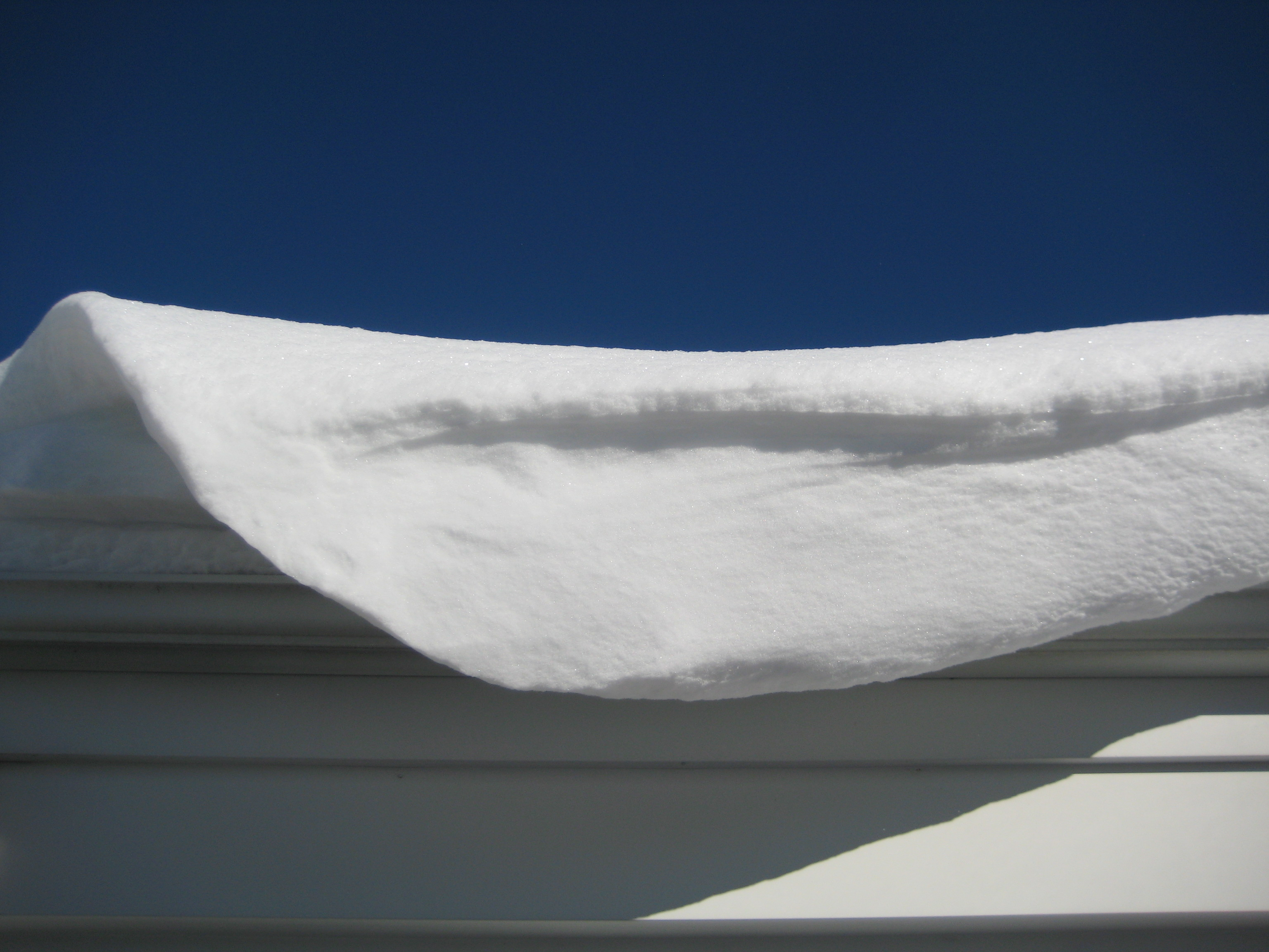 Glimpse of solace: snow in sunshine