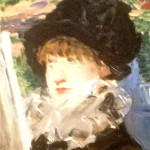 Detail from Berthe Monsot painting