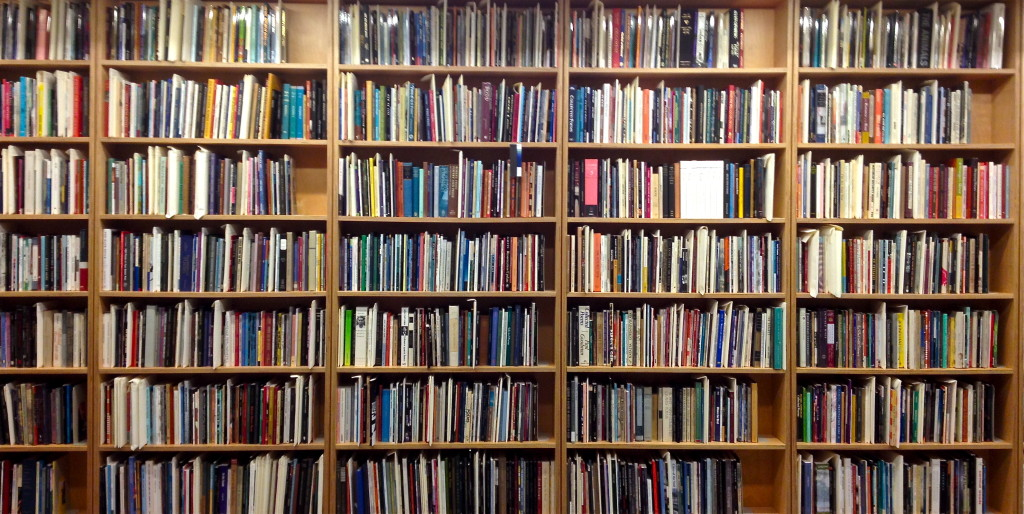 Bookstacks  © Ellen Wade Beals, 2015