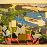 Past Times 1997 by Kerry James Marshall