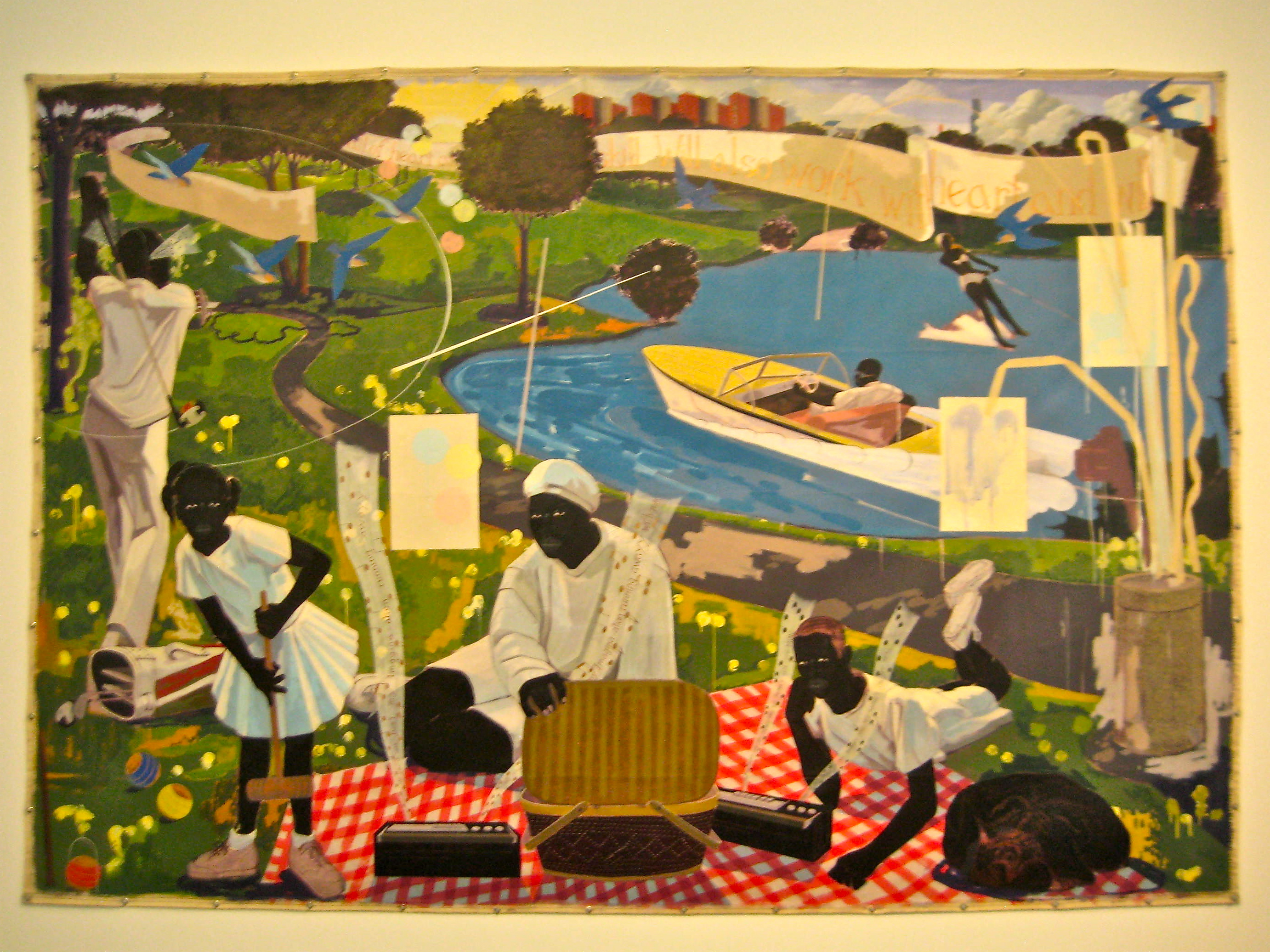 Glimpse of solace: Kerry James Marshall at MCA