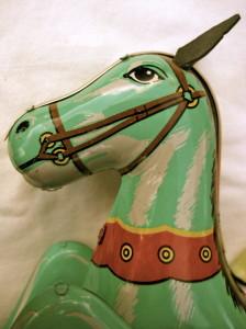 Toy horse © Ellen Wade Beals, 2014